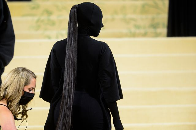 kim kardashian met gala balenciaga