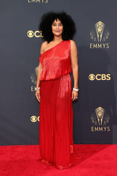 los angeles, california   september 19 tracee ellis ross attends the 73rd primetime emmy awards at la live on september 19, 2021 in los angeles, california photo by rich furygetty images
