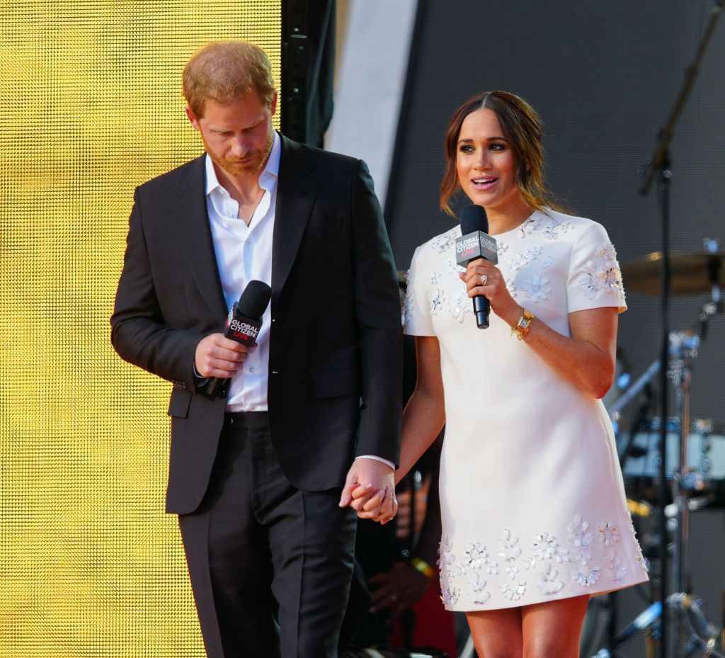 Meghan Markle and Prince Harry address vaccine inequality at Global Citizen festival