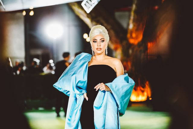 Lady Gaga Stunned in a Dramatic Old Hollywood Look at the Academy Museum of Motion Pictures Opening Gala