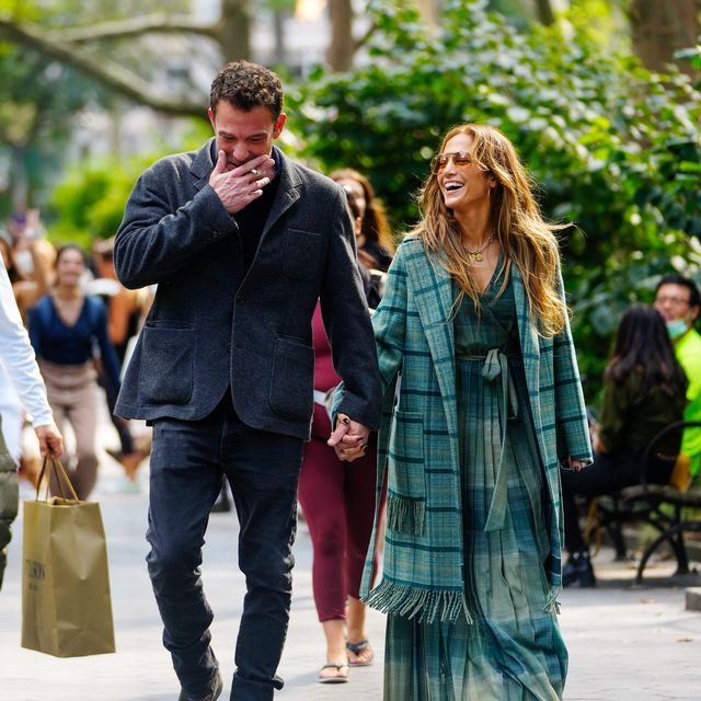 new york, new york   september 26 jennifer lopez and ben affleck are seen on september 26, 2021 in new york city photo by gothamgc images