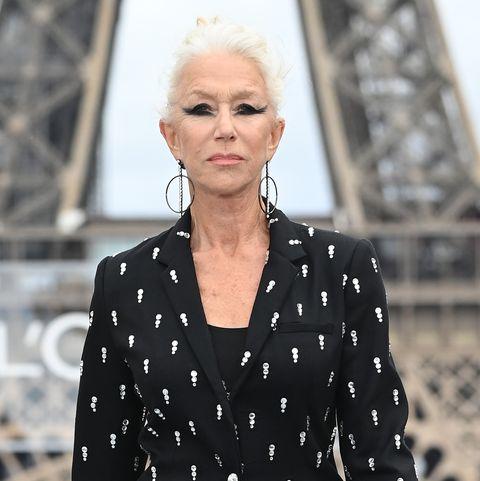 helen mirren paris fashion week