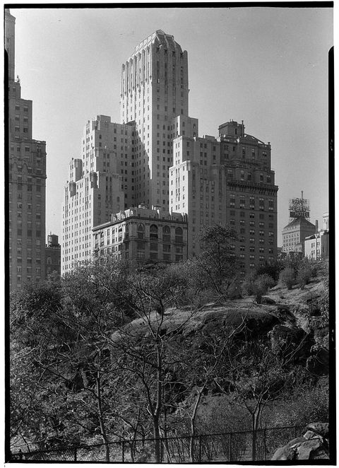 united states   october 16  sixth avenue and 56th street barbizon hotel new york, ny  photo by mcnygottscho schleisnergetty images
