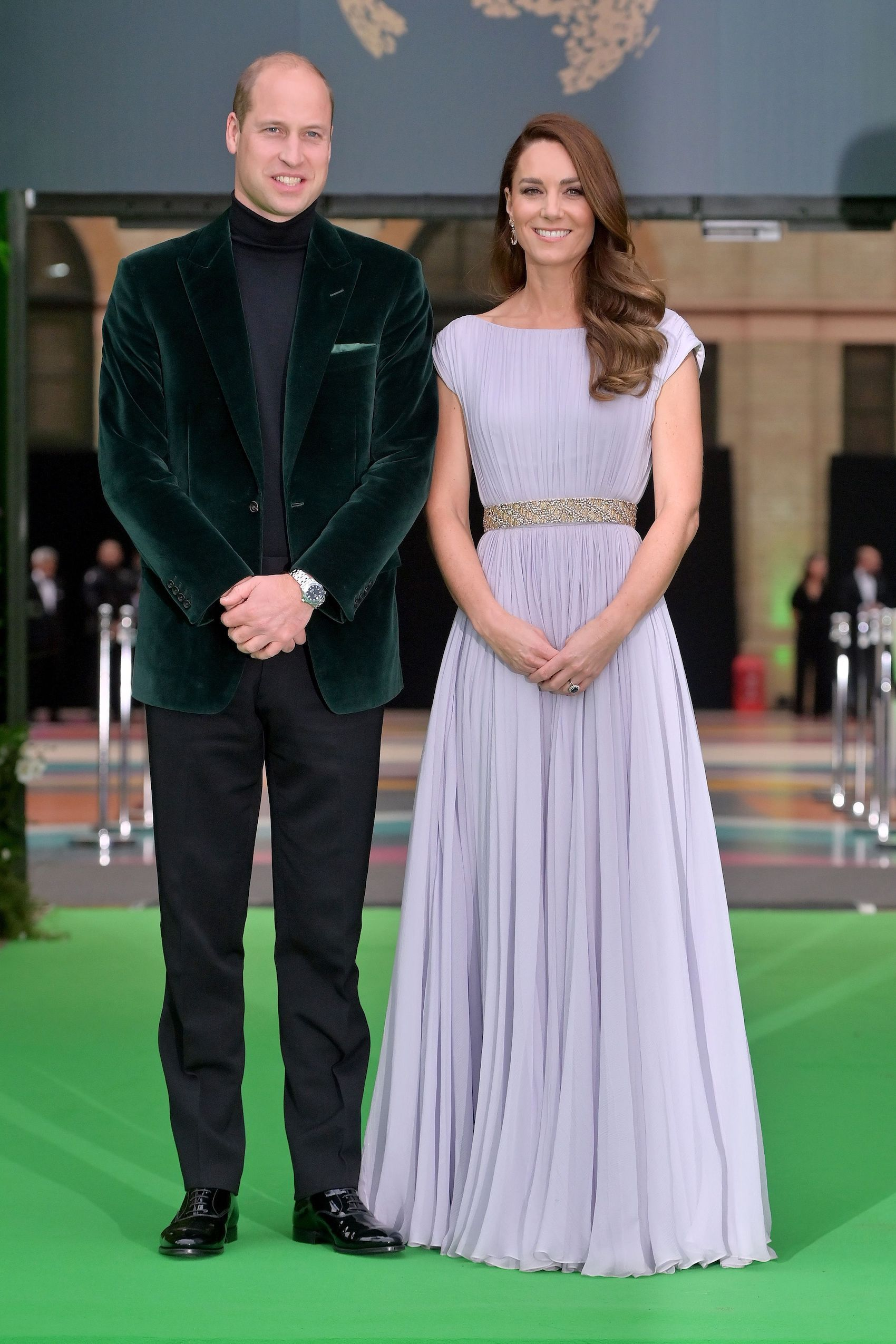 Kate Middleton Brings Back Her Lilac Alexander McQueen Gown for the Earthshot Prize Awards