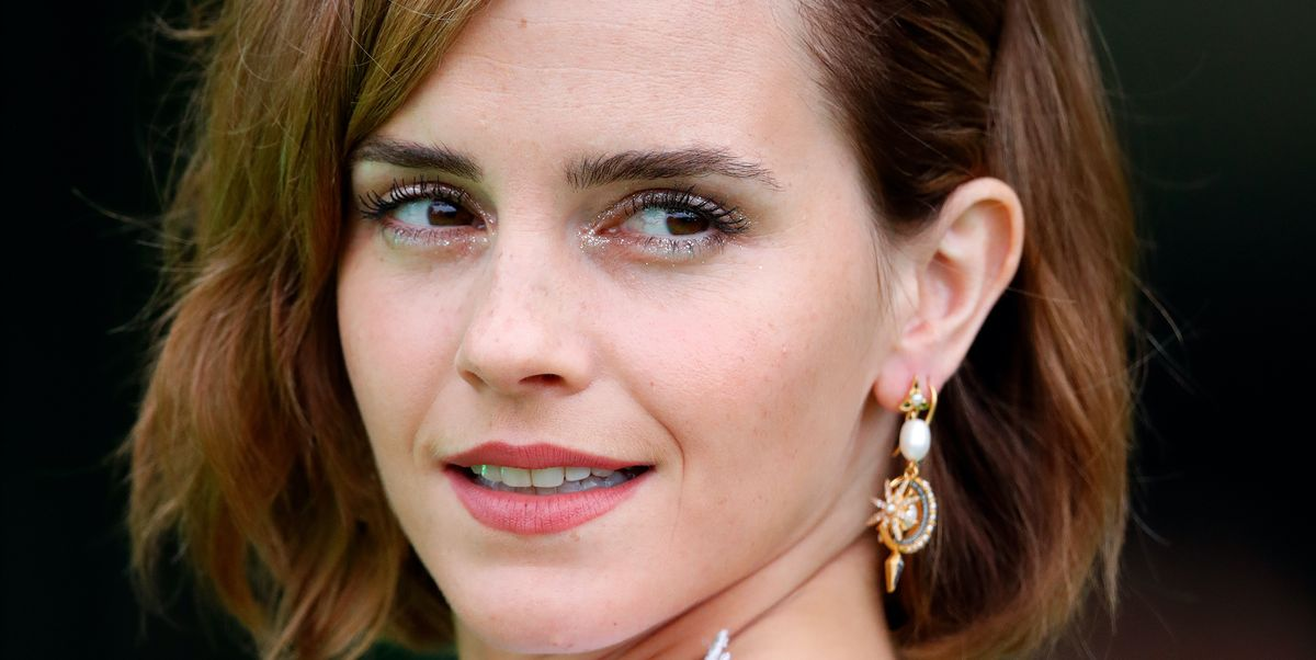 Emma Watson Returns to the Red Carpet in a Daring Backless Gown