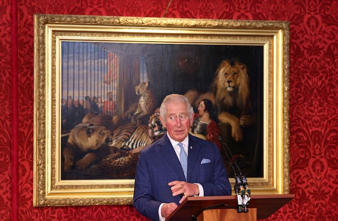 Prince Charles Made a Joke That Revealed the Pressure He's Under