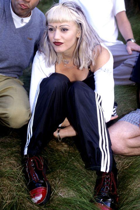 Blond, Grass, Sitting, Footwear, Long hair, Leg, Fun, Dress, Photography, Shoe,