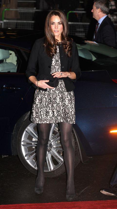 c6fd153d4b6316 Kate Middleton wearing Zara. Getty Images. The lace peplum dress ...