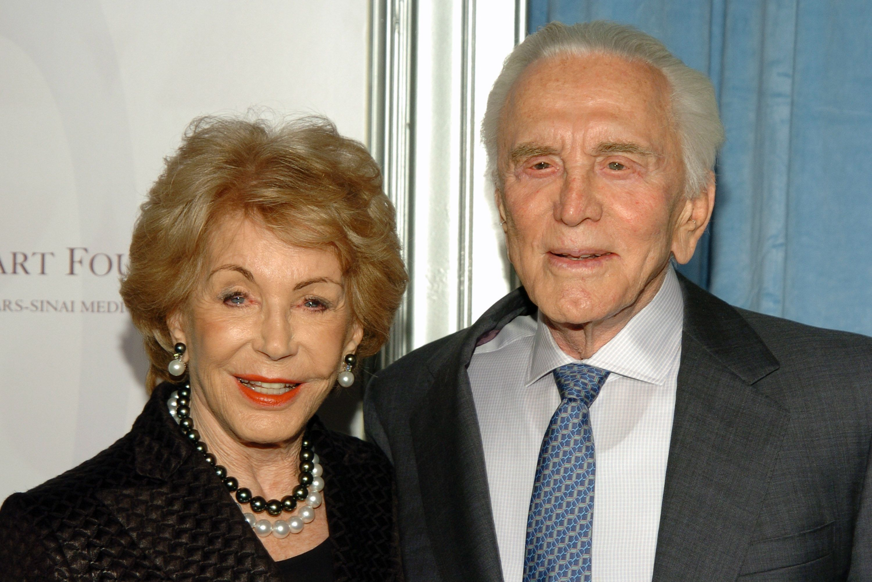 Kirk Douglas's Six-Decade Love Story With His Wife, Anne Buydens