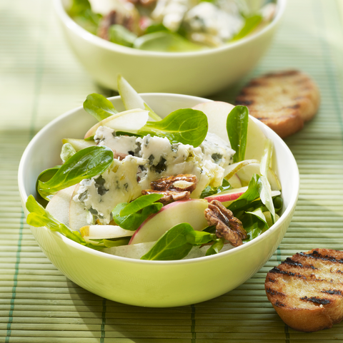 apple and blue cheese salad recipe