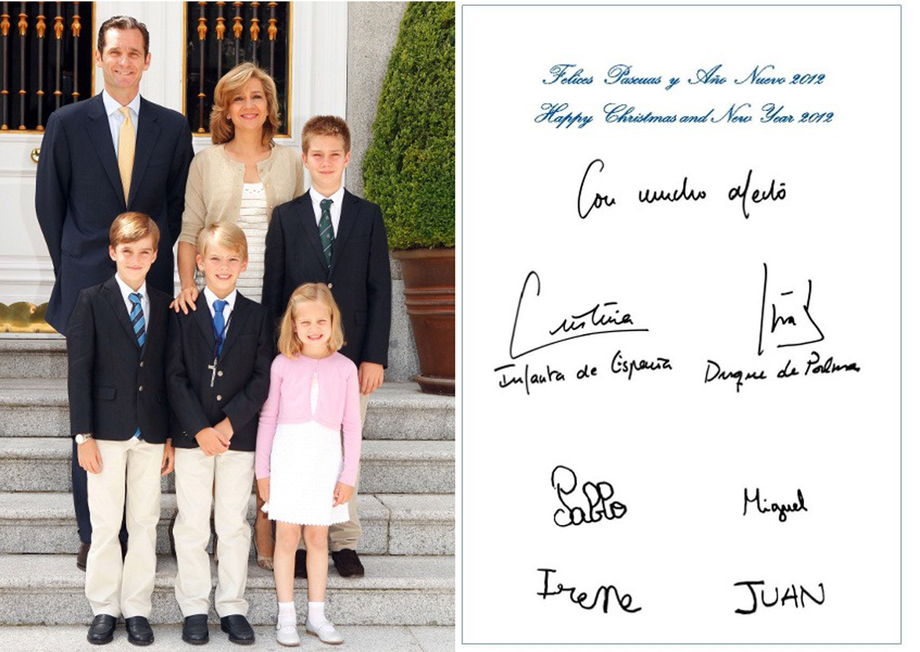 spanish royal family releases 2017 christmas card 20 best holiday cards from the spanish royals - Royal Family Christmas Card