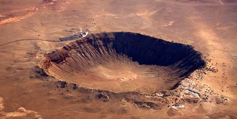 Volcanic crater, Impact crater, Volcano, Water, Volcanic landform, Caldera, Crater lake, Geology, Lava dome, Volcanic field,