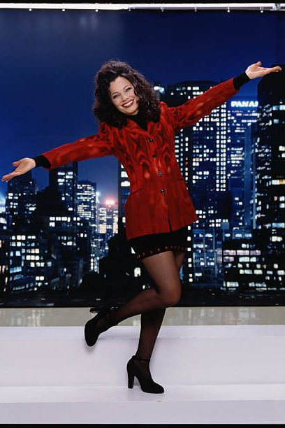 los angeles   july 17 fran drescher stars as fran fine sheffield on the nanny  photo by cbs via getty images