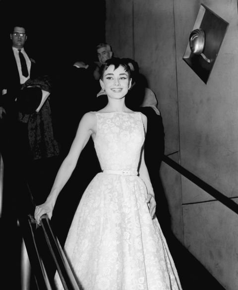 Audrey Hepburn Givenchy 1954 Oscars