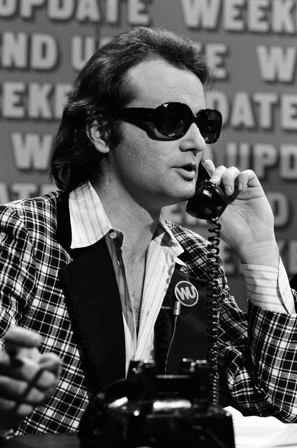 Bill Murray during the SNL 'Weekend Update' skit on May 20, 1978.