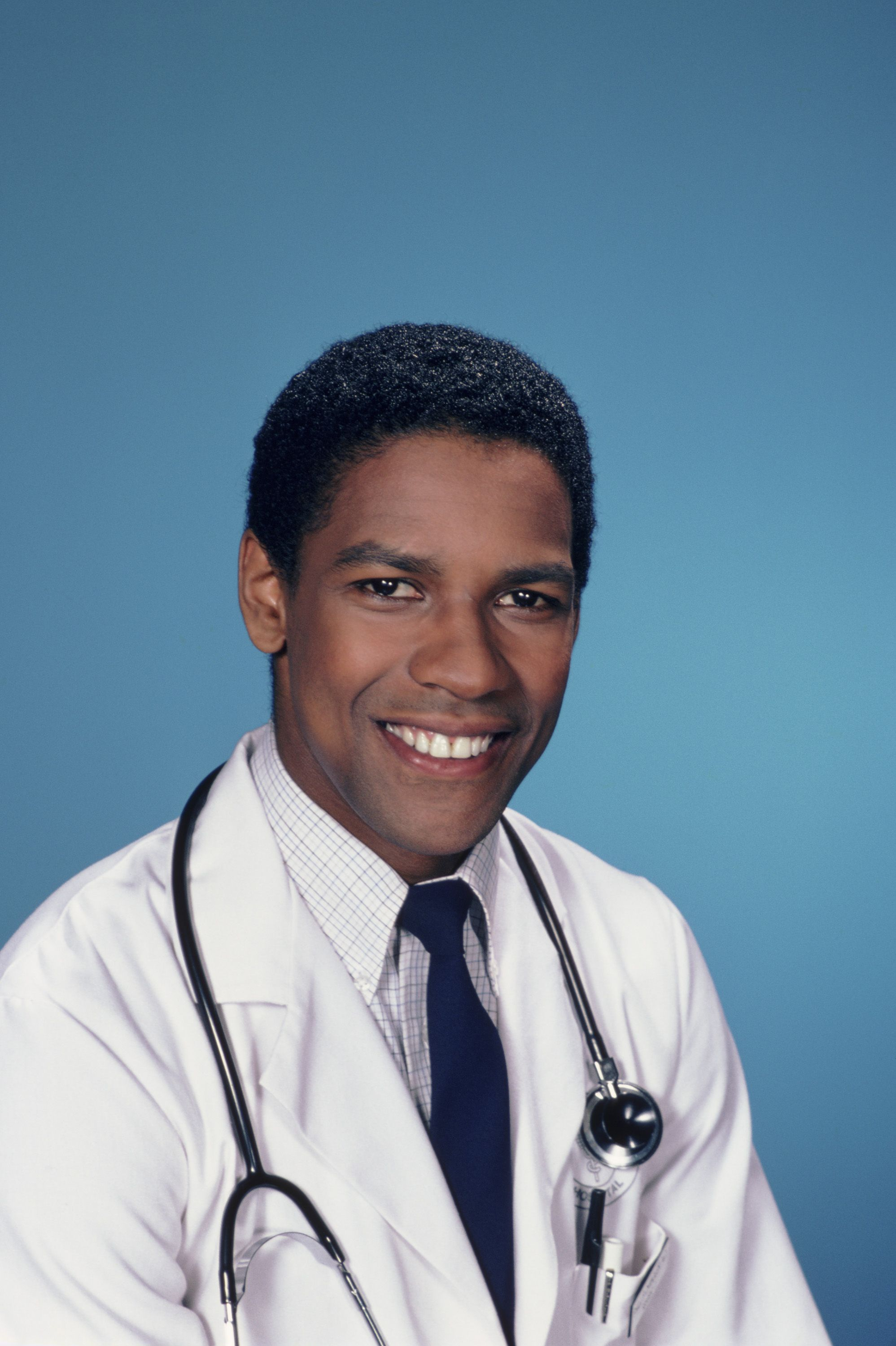 Denzel Washington at 29 Washington's big break came in the '80s, when he starred as Dr. Phillip Chandler in NBC's hospital drama St. Elsewhere.