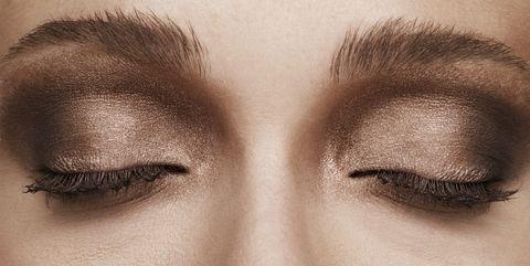 Eyebrow, Face, Eye, Eyelash, Hair, Skin, Eye shadow, Organ, Close-up, Beauty,