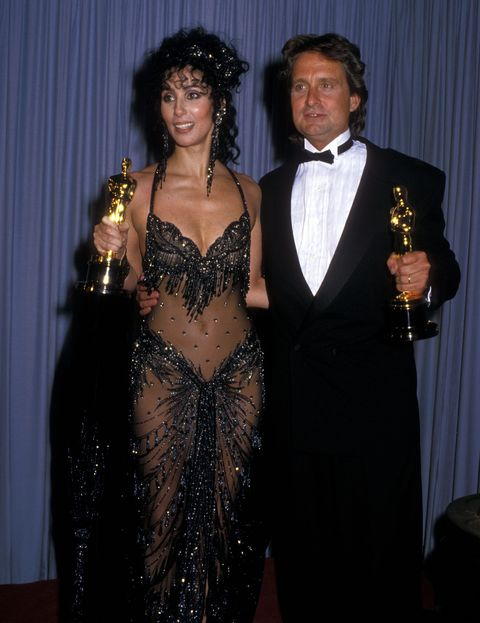 Cher Iconic Oscars Dress Remember When Cher Wore Bob Mackies