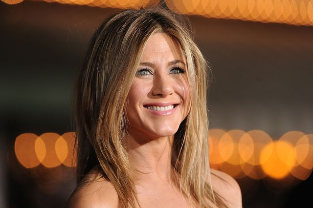 westwood, ca   february 16  actress jennifer aniston arrives at the premiere of universal pictures wanderlust held at mann village theatre on february 16, 2012 in westwood, california  photo by jason merrittgetty images