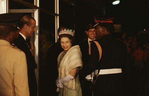 Queen elizabeth In Botswana
