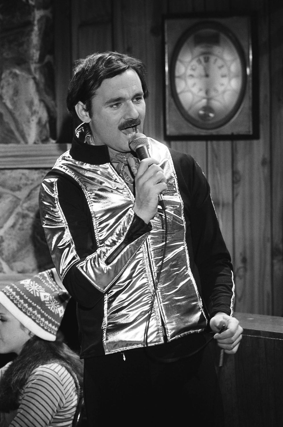 Bill Murray as Nick during the 'Nick Winters' skit on January 28, 1978 in SNL .