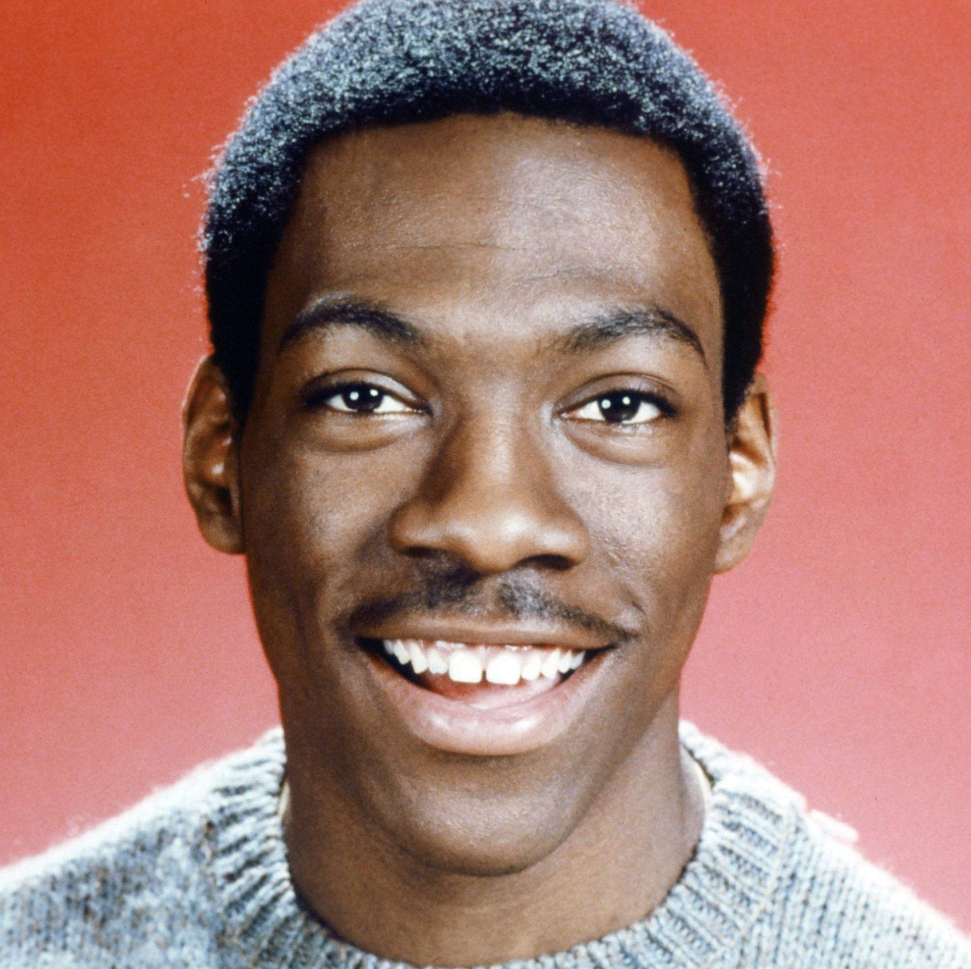 1983: Eddie Murphy The comedian and actor has been performing since the '80s but never seems to age—perhaps he can thank his go-to mustache for that.