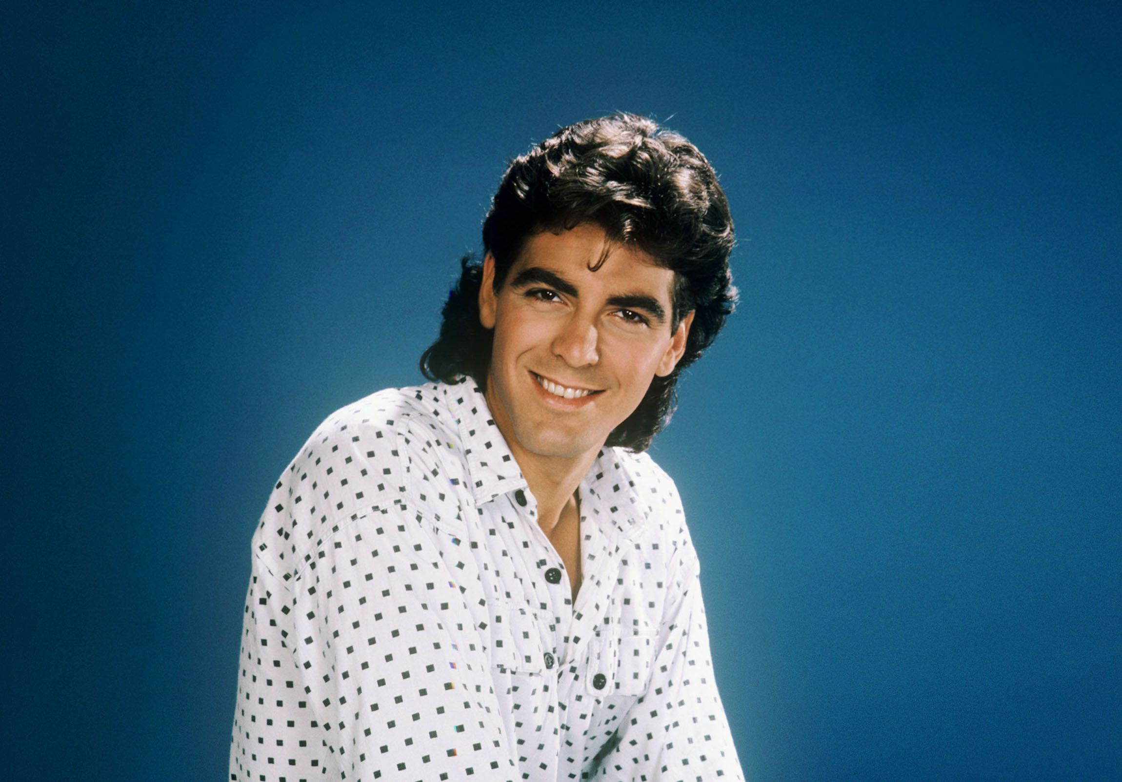 Clooney's portrait for The Facts of Life in 1986.
