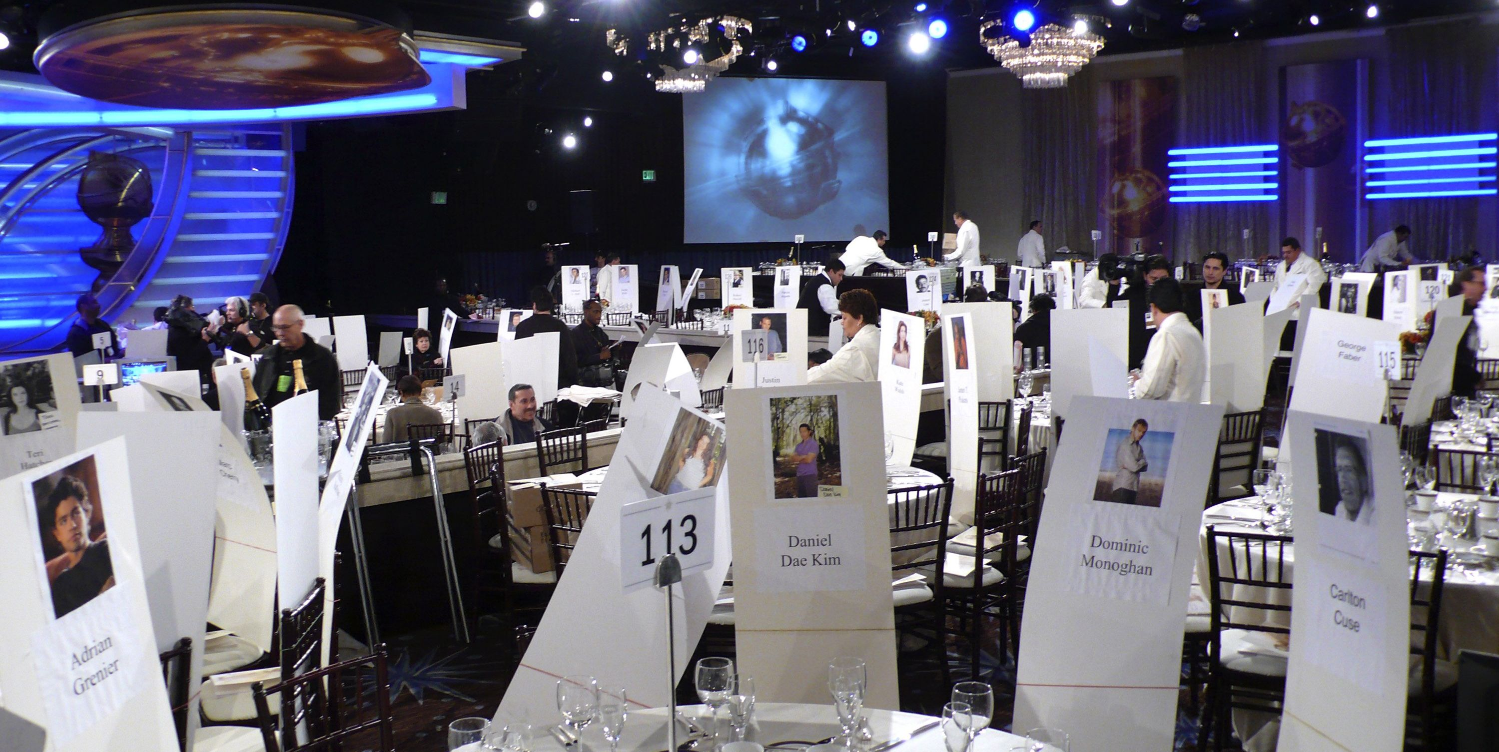 How the Golden Globes decides its seating chart
