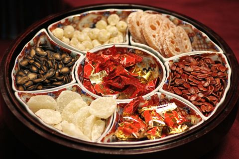 Food, Cuisine, Dish, Ingredient, Delicacy, Produce, Snack, Dried fruit, Chinese food,