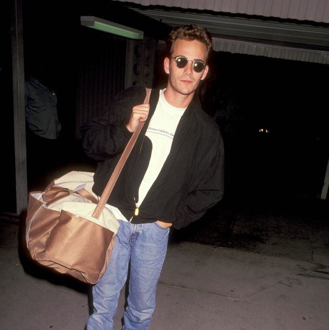 db99779f197f Luke Perry Dead at 52 - Photos of Luke Perry Throughout the Years