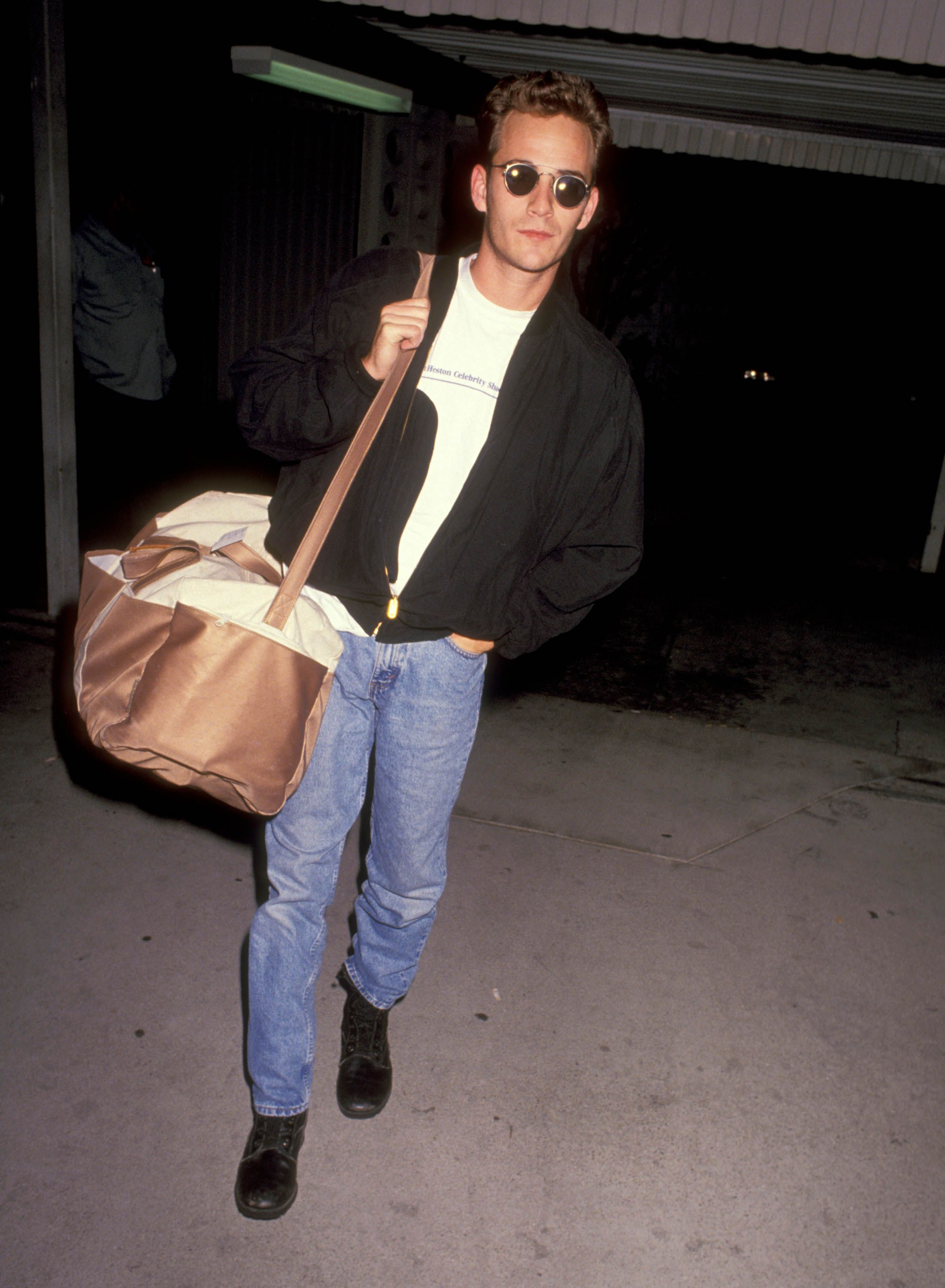 Perry at Los Angeles International Airport in 1991.