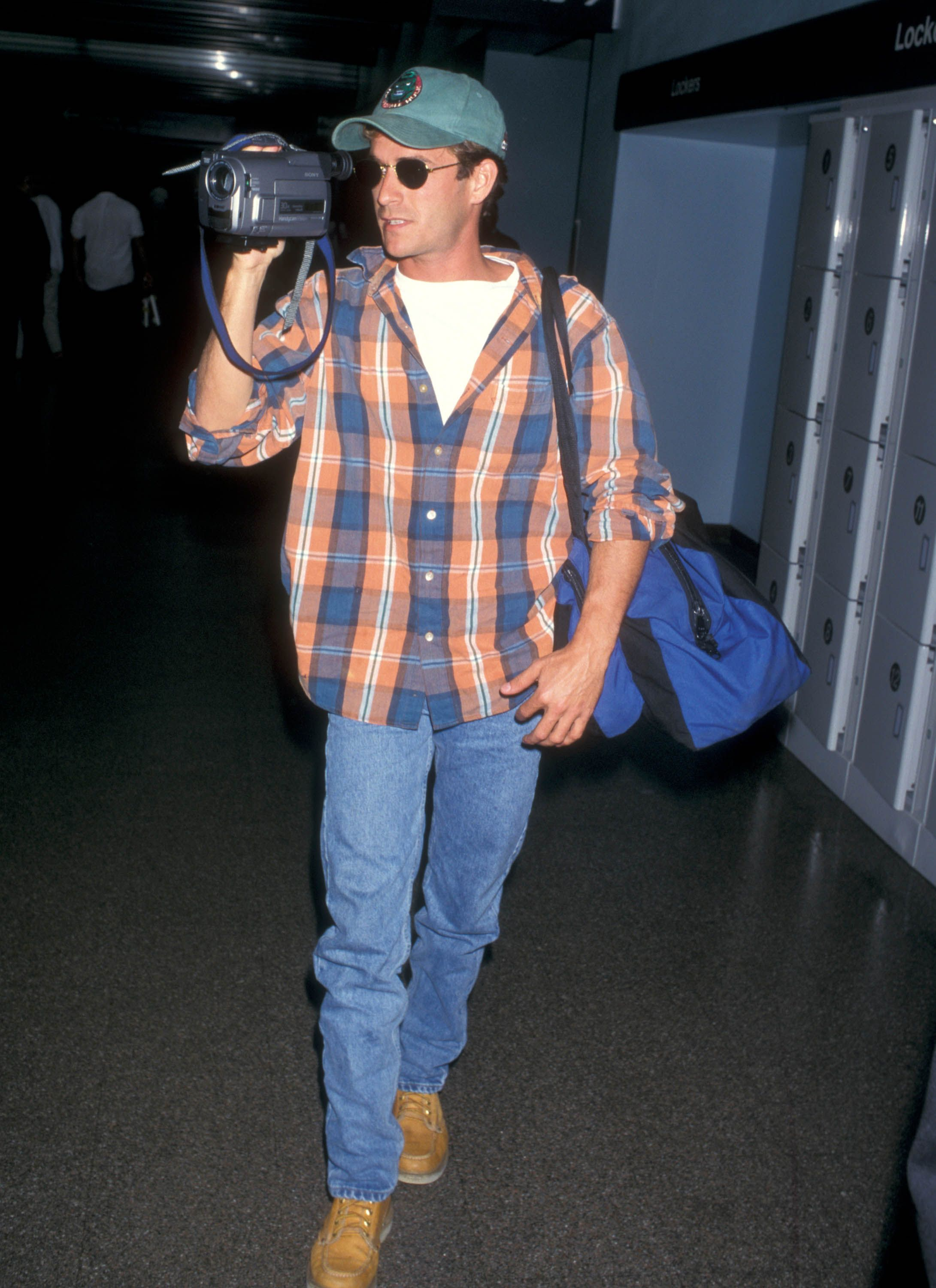 Perry at Los Angeles International Airport in 1997.