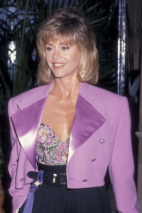 beverly hills, ca   march 9   actress jane fonda attends the 17th annual american film institute afi lifetime achievement award salute to gregory peck on march 9, 1989 at the beverly hilton hotel in beverly hills, california photo by ron galella, ltdron galella collection via getty images