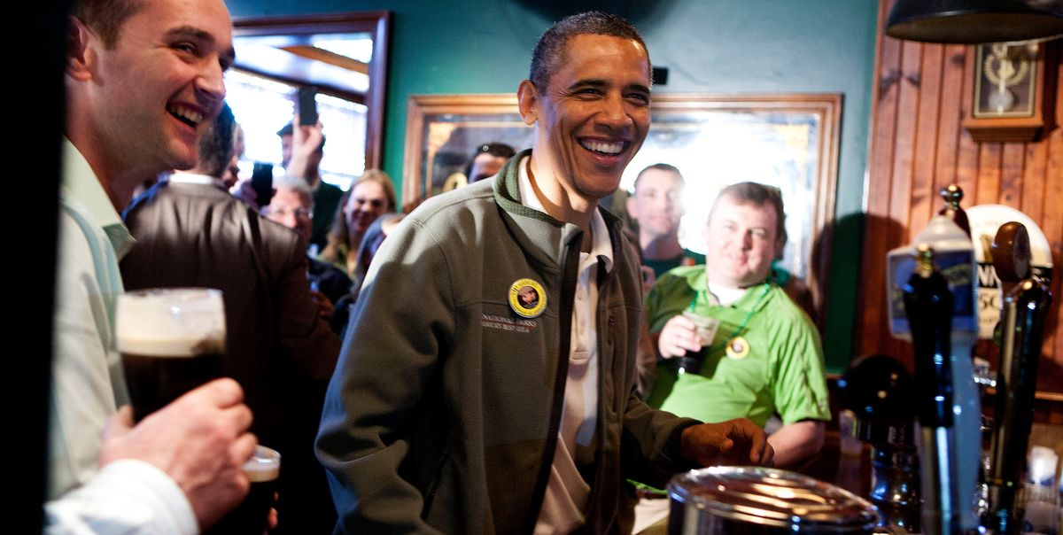Everyone is on Irish on March 17—including famous people.