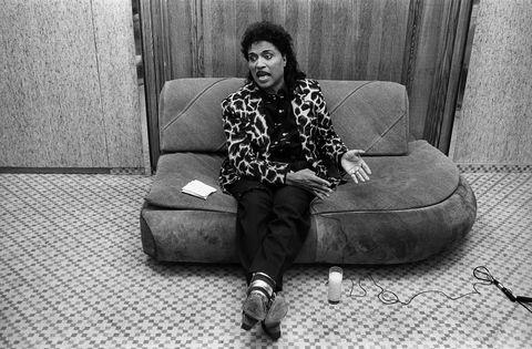 antwerpen, belgium   29th november american singer little richard posed in antwerpen, belgium on 29th november 1992 photo by paul bergenredferns