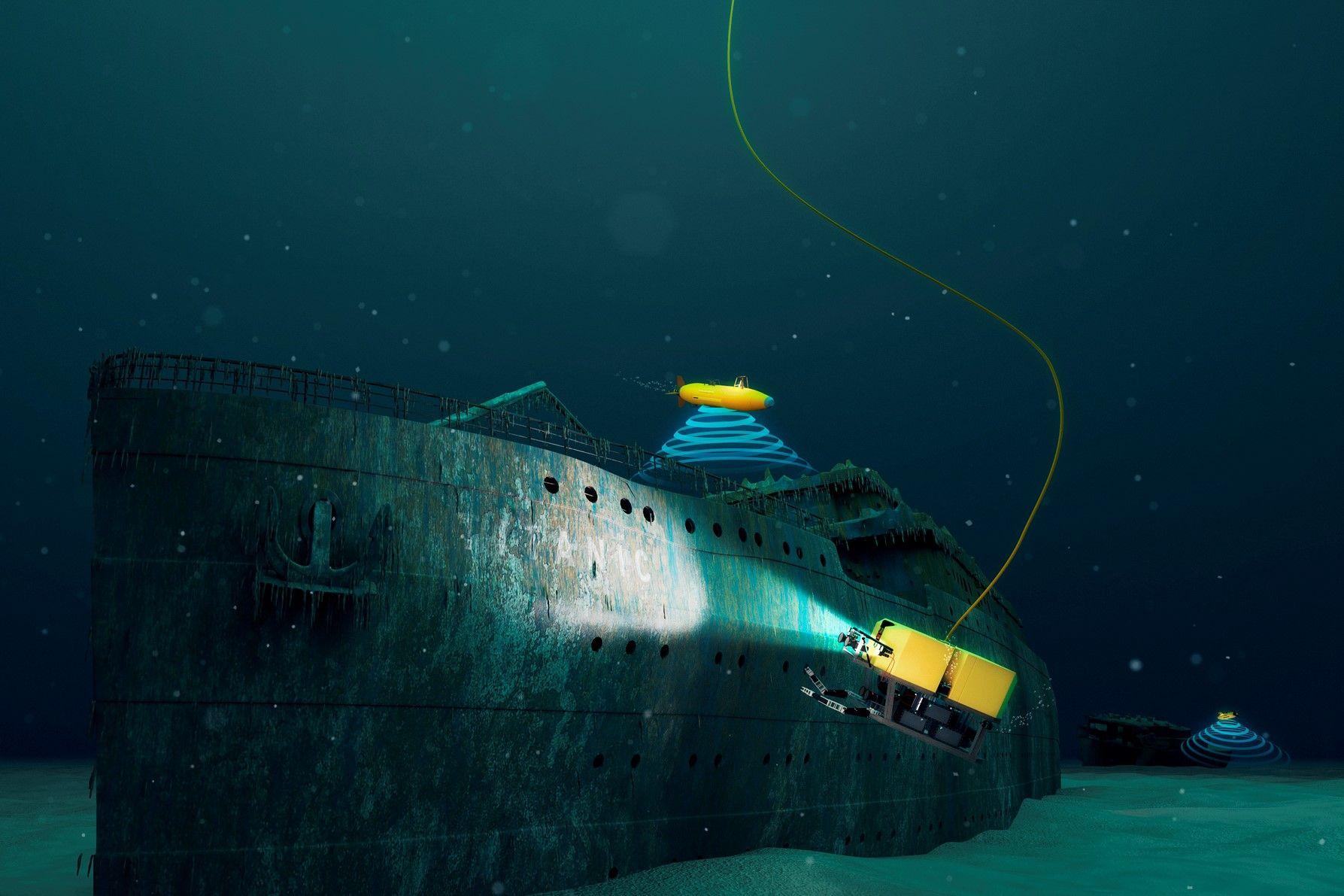 Nel 2019 potrai visitare il Titanic in fondo all'oceano