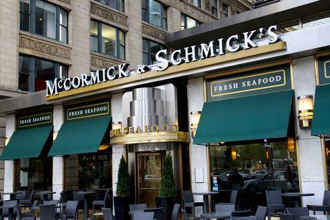 Restaurants open on Thanksgiving - McCormick & Schmick's