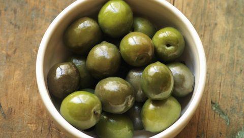 Olive, Food, Fruit, Plant, Ingredient, Produce, Greengage, Olive family,
