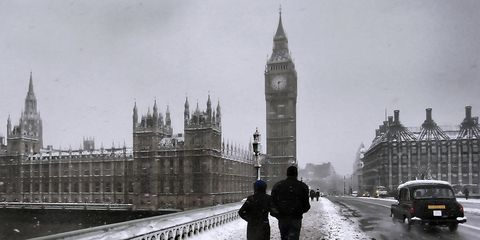 best time to go to london