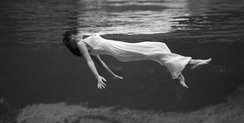 Water, White, Black, Photograph, Black-and-white, Monochrome photography, Beauty, Photography, Leg, Monochrome,