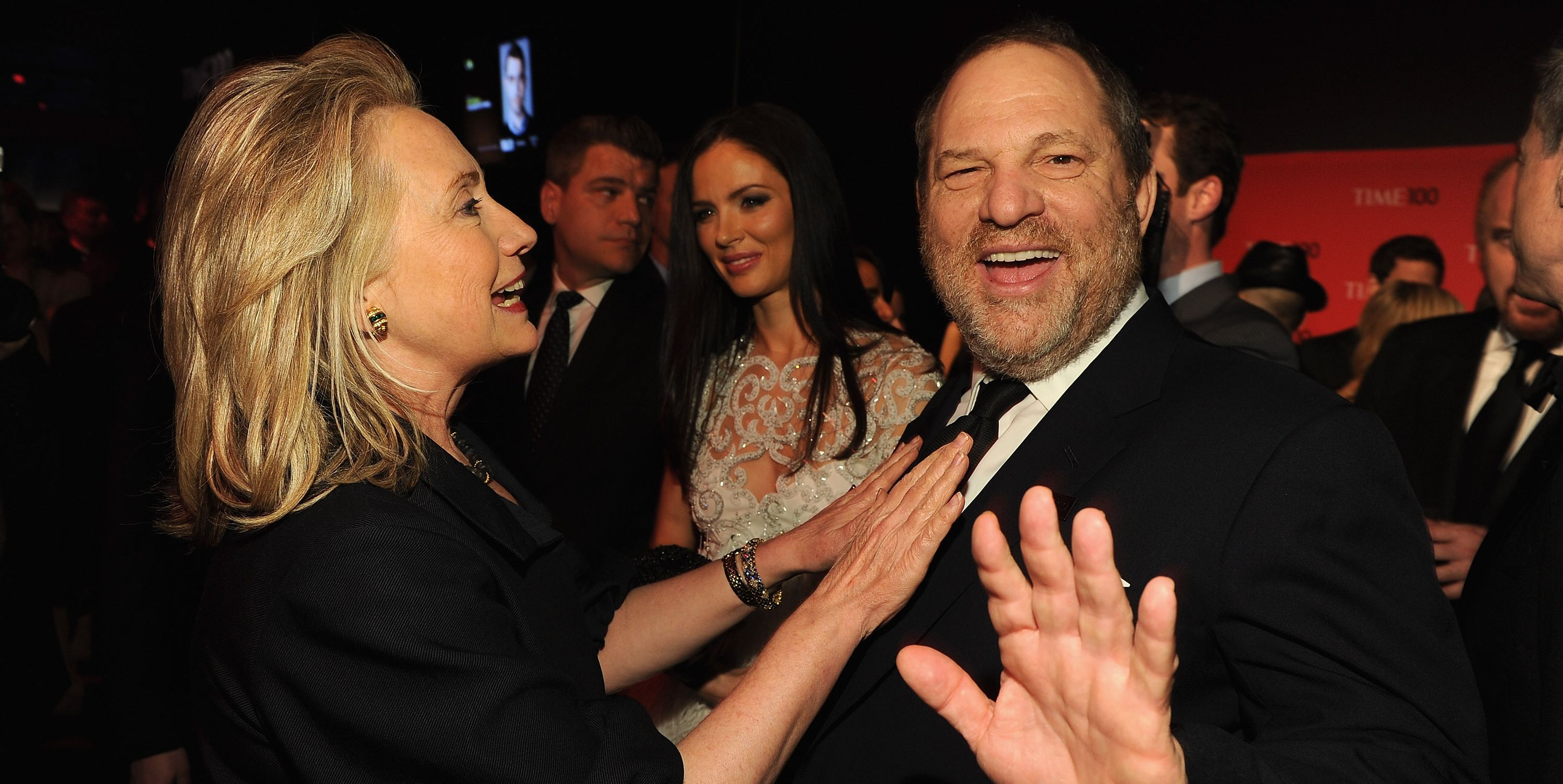 hillary clinton harvey weinstein democratic party donors