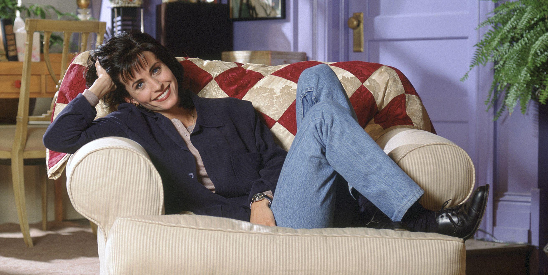 Courteney Cox as Monica Gellar in Friends
