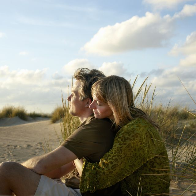 couple enjoy peaceful time together