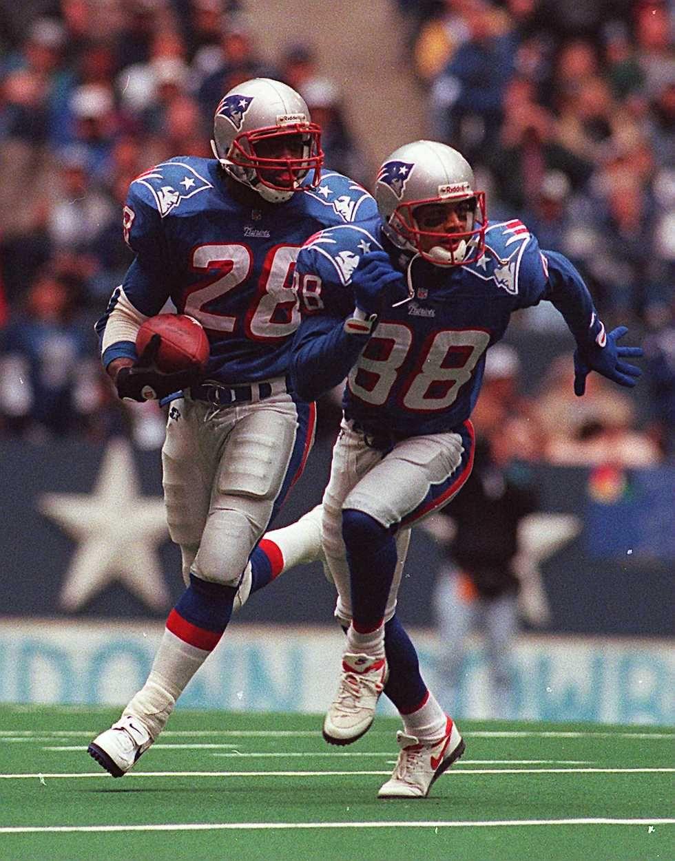 New England Patriots uniforms