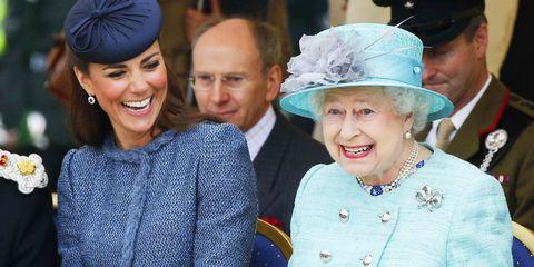 Duchess Catherine Queen Elizabeth