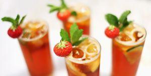 Pimm's cocktails