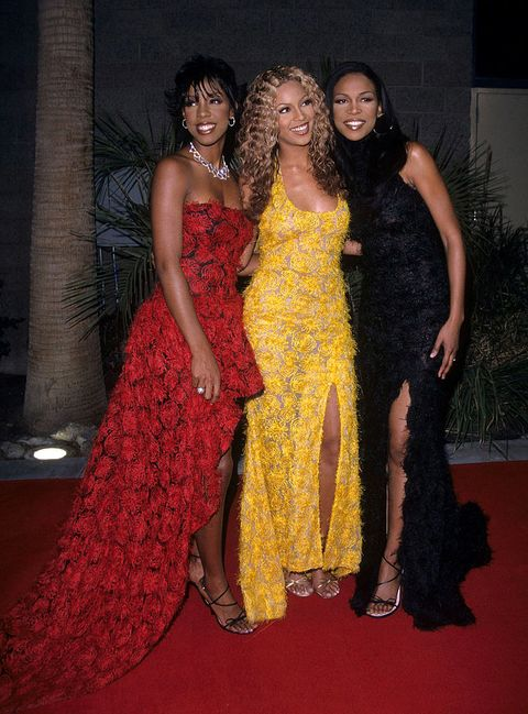 destinys child during 2000 billboard music awards in las vegas photo by kemazurwireimage