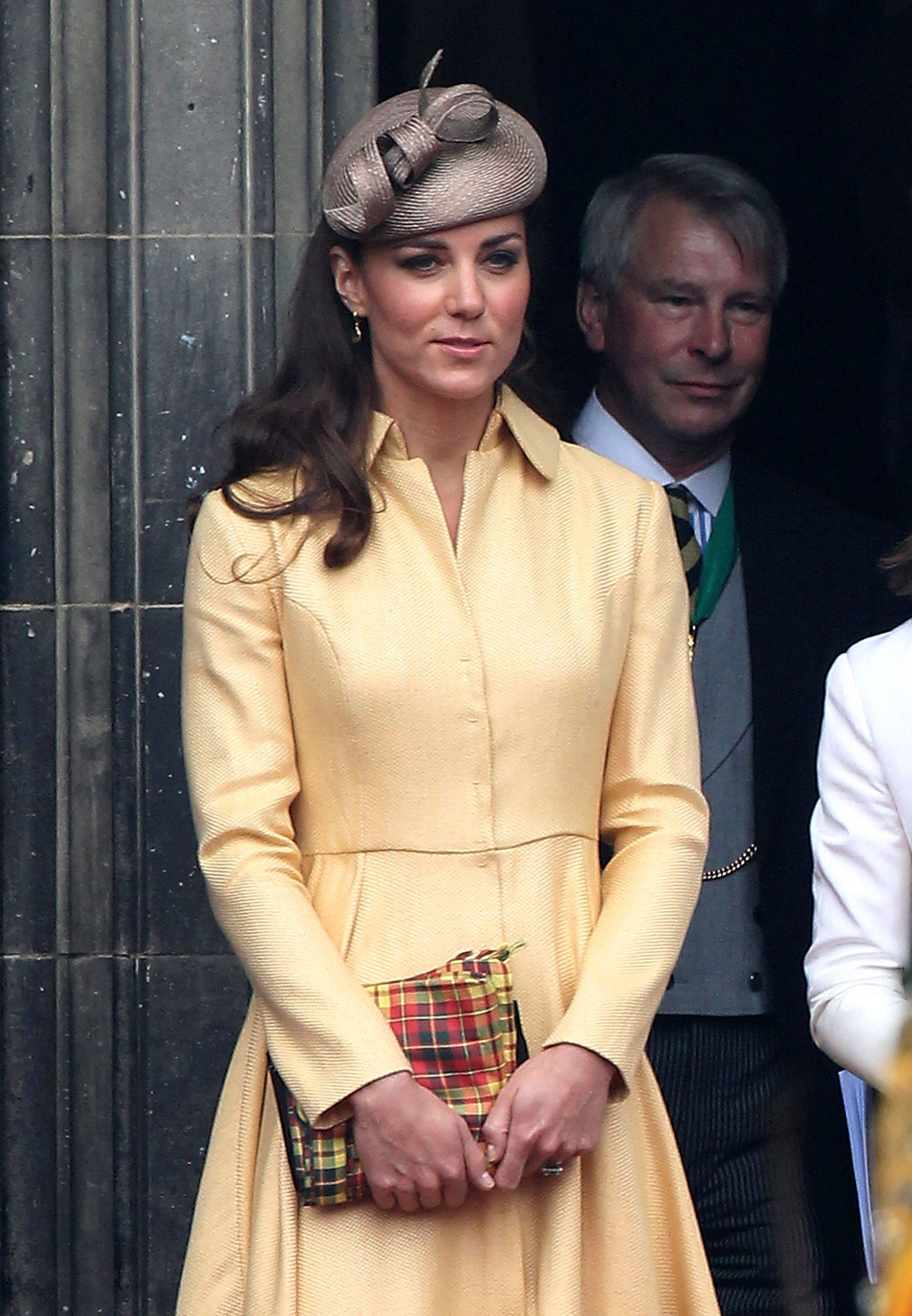 Kate Middleton at Order of the Thistle in 2012.
