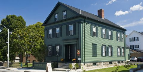 Borden family home, site of Lizzie Borden murders, now a B&B.