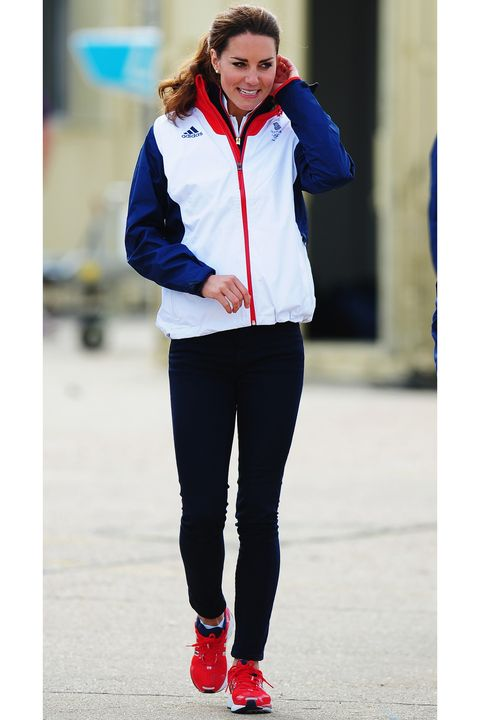 White, Clothing, Blue, Red, Cobalt blue, Jacket, Outerwear, Electric blue, Sportswear, Hood,
